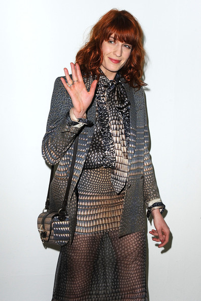 Florence Welch Florence Welch attends the Givenchy Ready to Wear Autumn/Winter 2011/2012 show at the Palais de Tokyo during Paris Fashion Week on March 6, 2011 in Paris, France.