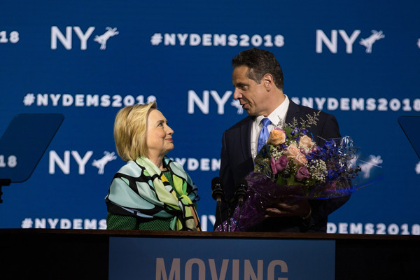 Hillary Clinton Addresses The New York State Democratic Convention