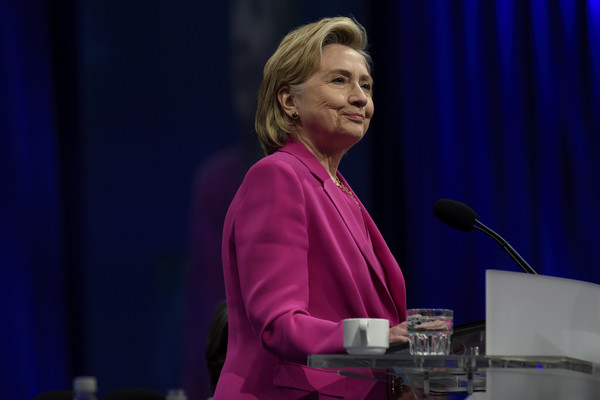 Hillary Clinton Addresses The American Federation Of Teachers Convention