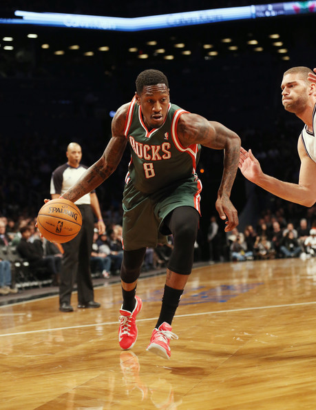 Larry Sanders - Milwaukee Bucks v Brooklyn Nets