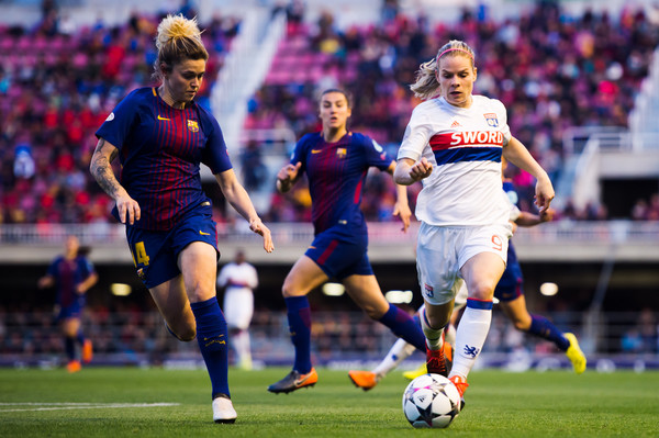 Image result for fc barcelona lyon women