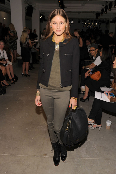 Olivia Palermo TV personality Olivia Palermo attends the Peter Som Spring 2011 fashion show during Mercedes-Benz Fashion Week at Milk Studios on September 10, 2010 in New York City.