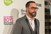 "Singer A.J. McLean attends the premiere of Gravitas Ventures' ""Backstreet Boys: Show 'Em What You're Made Of""   at  on January 29, 2015 in Hollywood, California."