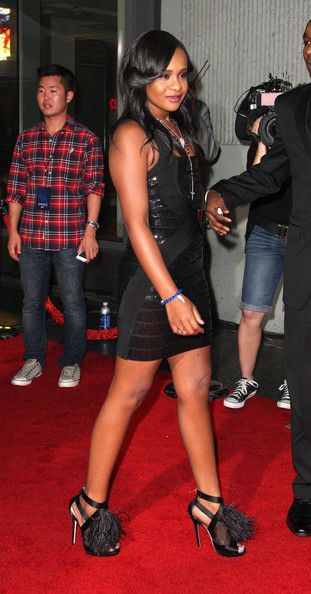 """Bobbi Kristina Brown attends the Premiere Of Tri-Star Pictures' """"Sparkle"""" at Grauman's Chinese Theatre on August 16, 2012 in Hollywood, California."""