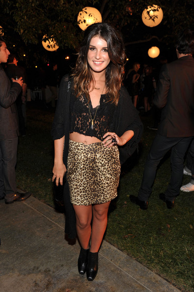 Shenae Grimes Actress Shenae Grimes inside at The 8th Annual Teen Vogue Young Hollywood Party at Paramount Studios on October 1, 2010 in Los Angeles, California.