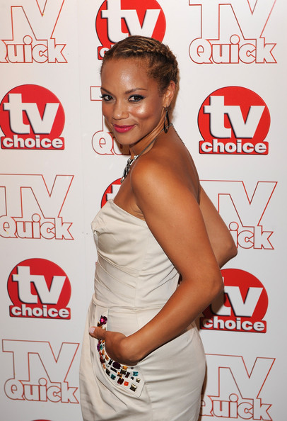 Angela Griffin Angela Griffin attends the TV Quick & Tv Choice Awards at The Dorchester on September 7, 2009 in London, England.