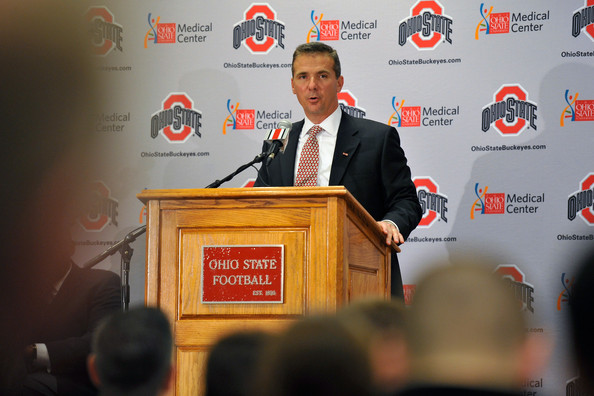 Ohio State Introduces Urban Meyer