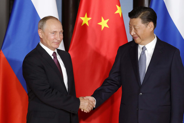 Image result for xi jinping, vladimir putin, photos