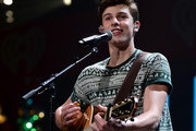 Shawn Mendes performs at Y100's Jingle Ball 2014 at BB&T Center on December 21, 2014 in Miami, FL.