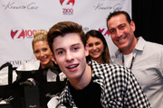 Singer Shawn Mendes attends the Z100's Artist Gift Lounge presented by Goldfish Puffs at Z100's Jingle Ball 2014 at Madison Square Garden on December 12, 2014 in New York City.