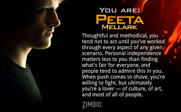 You are Peeta Mellark!