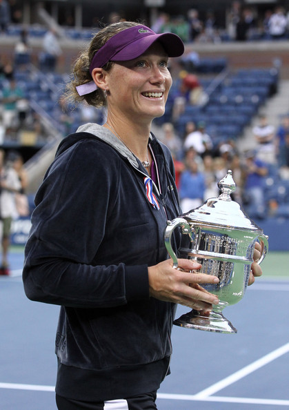 Samantha Stosur - Samantha Stosur of Australia beats Serena Williams of USA to win the women's US Open in New York