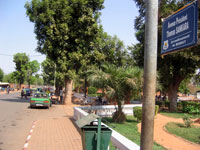 L'avenue Thomas Sankara à Ouagadougou.(Photo : Alpha Barry/RFI)