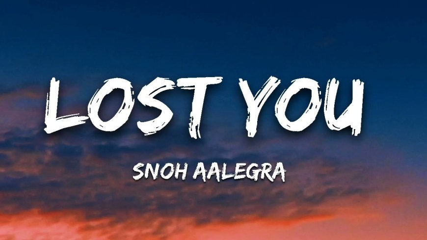 Snoh Aalegra – LOST YOU mp3 download