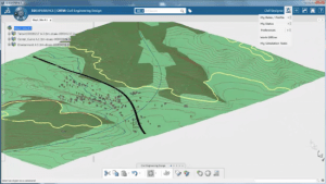 """Using a Large Range Scale in """"Civil Design"""" from Dassault Systèmes"""
