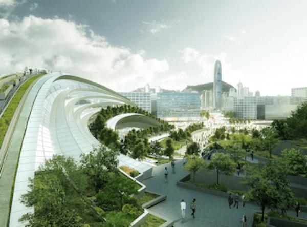 West Kowloon Terminus Prefabrication