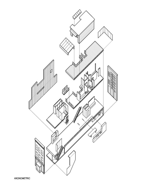 Town House Axonometric
