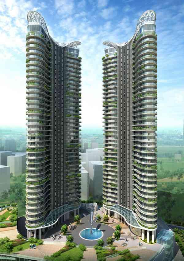 3d Exhibition In Borivali : Aquaria grande residential complex in borivali mumbai india