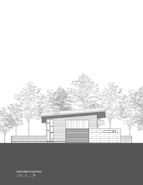 Harkavy Residence Elevation North West