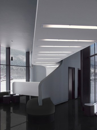 Interior of New Airport Building
