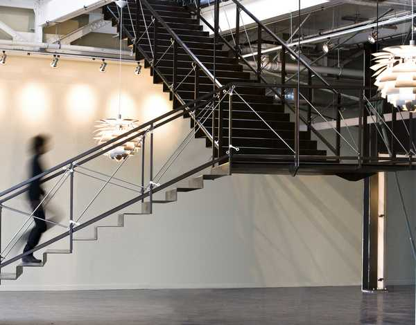 Entry Stairs of Office