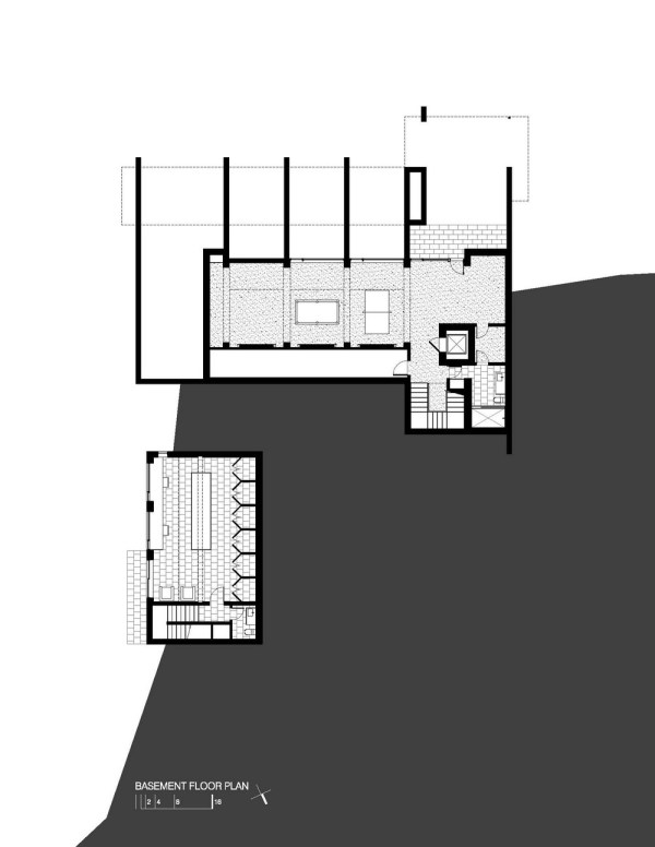 Wissioming Residence Basement Floor Plan