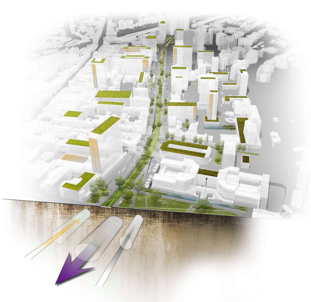 Wellesley road park lane in croydon london by okra landscape diagram pooptronica Gallery