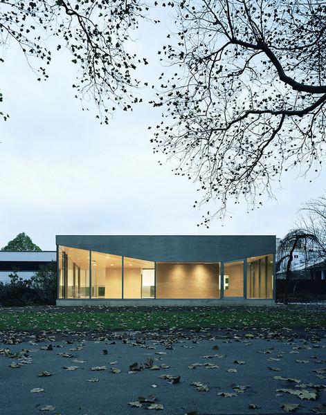 Architekt Düren cafe pavilion in düren germany by architekten martenson und
