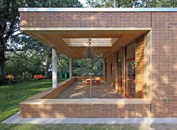 Aeccafe archshowcase for Terrace trees