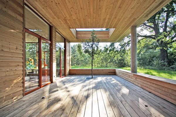 New building kindergarden in berlin germany by winkens for Terrace trees