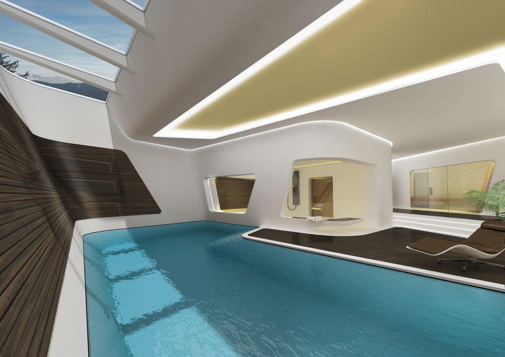 Ksnacht Villa In Zurich Switzerland By Zaha Hadid Architects