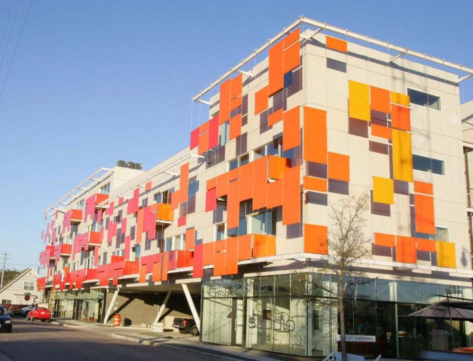 Block 19 Mixed Use Development (Images Courtesy Ryan Michael). Architect: Bercy  Chen Studio ...