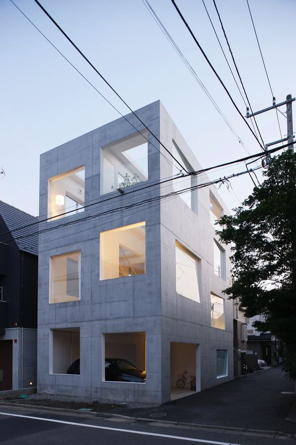 aeccafe  house h in tokyo  japan by sou fujimoto architects