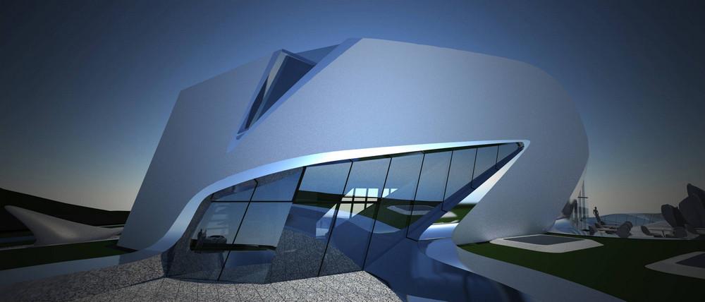 Next Gene Architecture Museum In Taipei Taiwan By Zaha Hadid Architect
