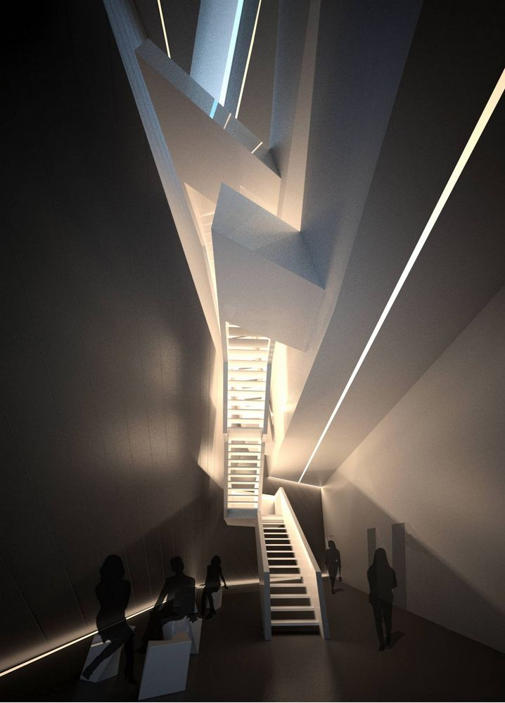 University Of Seville Library In Seville Spain By Zaha Hadid