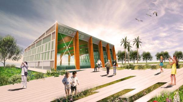 Aeccafe archshowcase for Indoor facility design