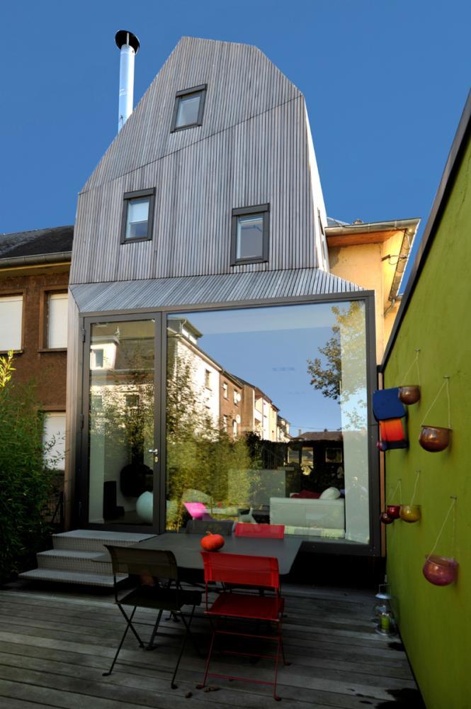 Cit jardin in luxembourg city by steinmetzdemeyer architectes for Architecte jardin