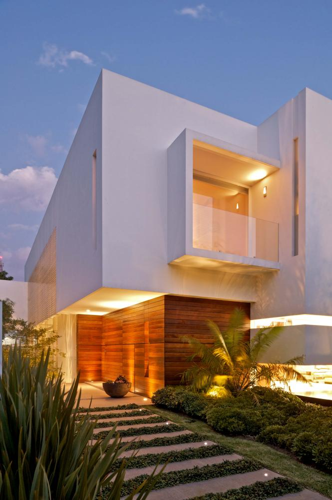 Archshowcase casa lh in jalisco mexico by divece for Casa tipo minimalista