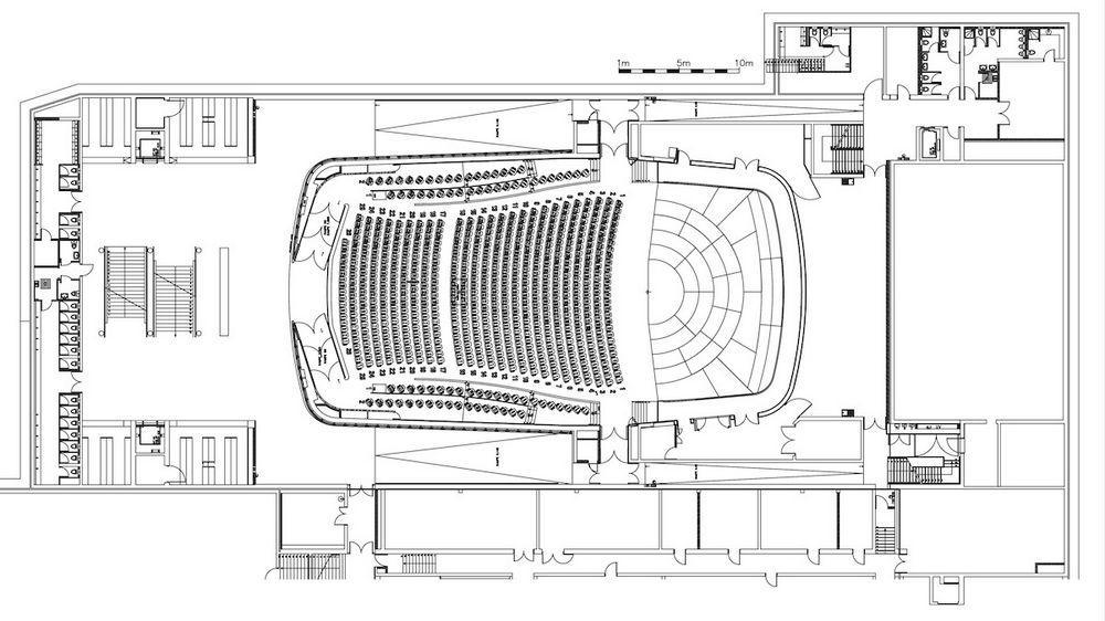 Aeccafe Archshowcase Kkl Luzern Concert Hall In Switzerland