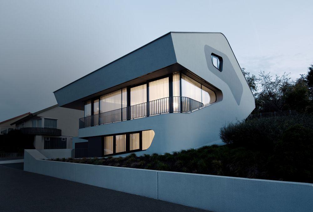 Ols house in stuttgart germany by j mayer h architects for Stuttgart architecture