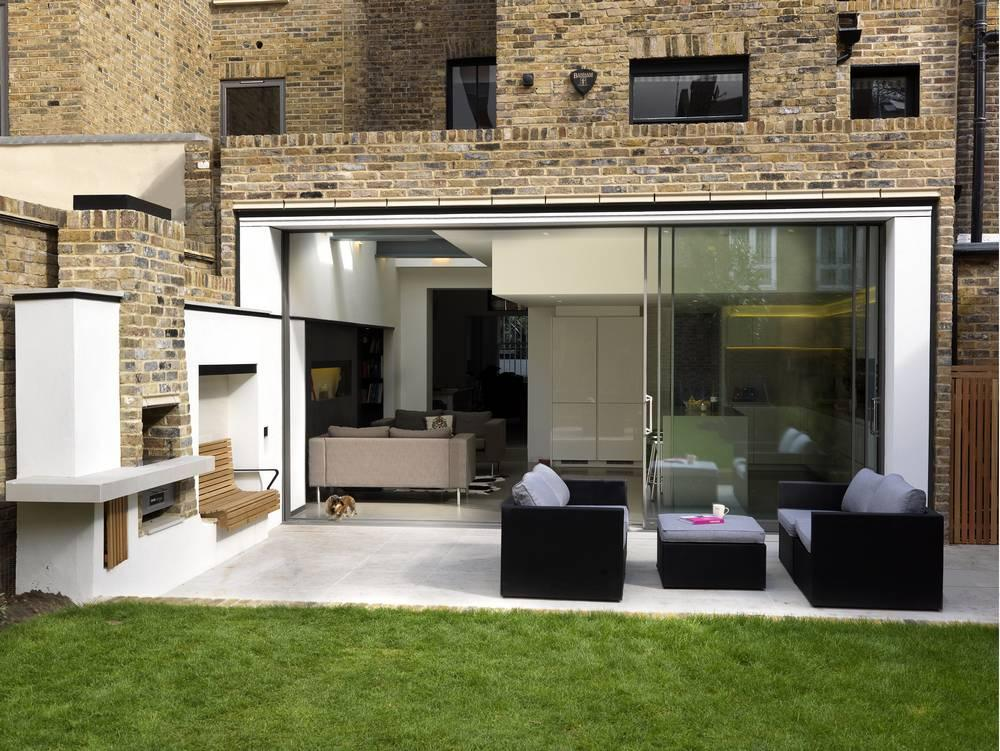 Aeccafe archshowcase gretel house by simon gill architects for Jardines modernos minimalistas