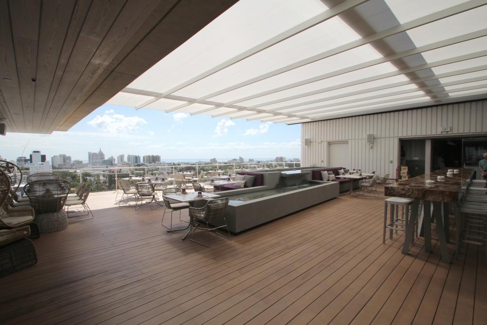 Juvia Restaurant And Lounge In Miami Beach Fl By Sefar 174