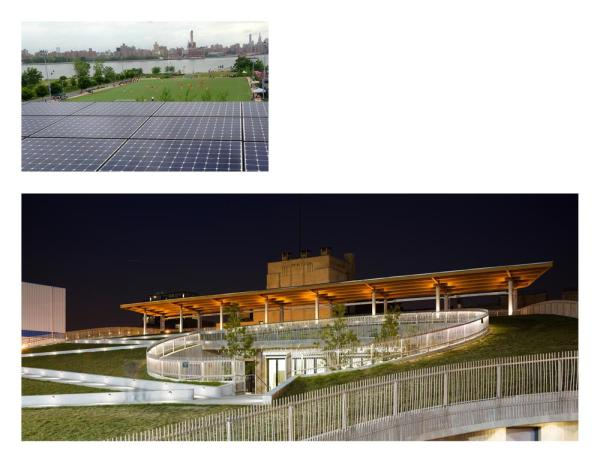 top) Existing site 2008; (bottom) Project under construction in 2012 - Photo Credit: Kiss + Cathcart, Architects