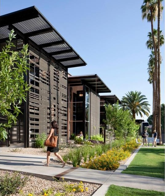 Arizona state university student health services in tempe by for Architectural design services
