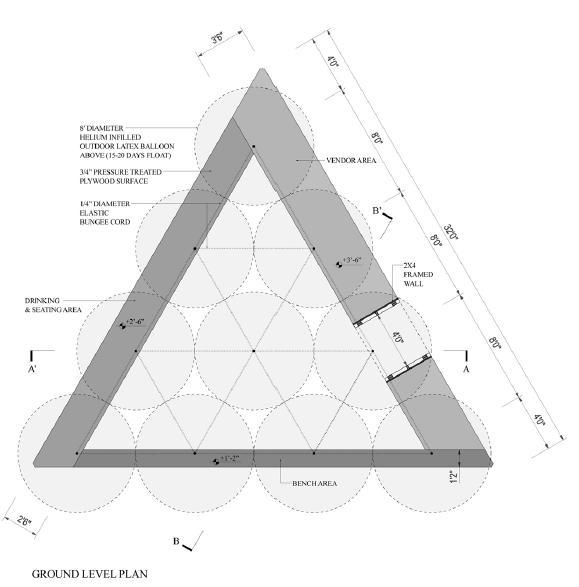 Ground Level Plan, Image Courtesy © stpmj
