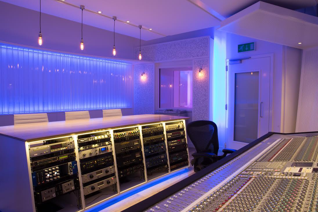 church studios control room 2