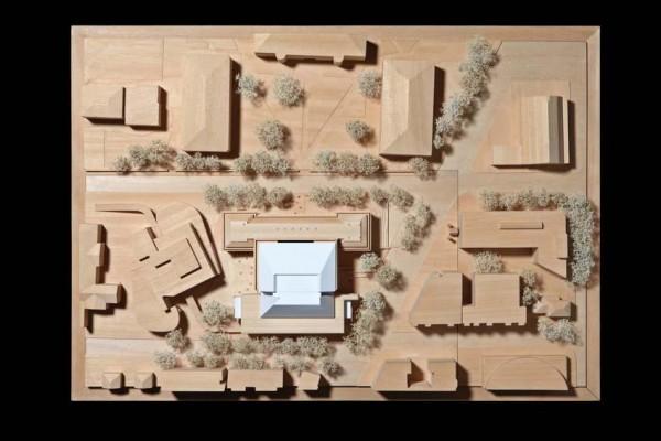Site wood model, Image Courtesy © RPBW - ph. Stefano Goldberg - Publifoto