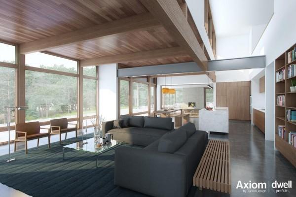 Archshowcase modern prefab house by dwell turkel design Dwell modular homes