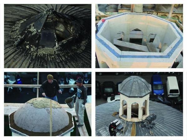 Restoration of the Skylight on the Main Dome, Image Courtesy © Ergin Iren