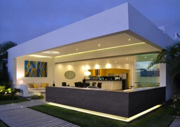 Aeccafe casa playa del sol in lima peru by dms arquitectas for Casas modernas lima